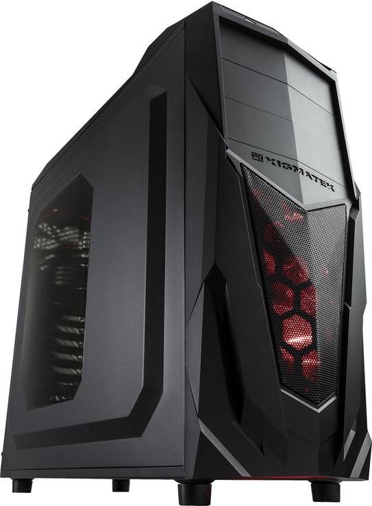 Игровой компьютер NG i5-8600K XM1 (i5-8600K/DDR4 - 16Gb/SSD-120Gb/HDD-1Tb/GTX1060)