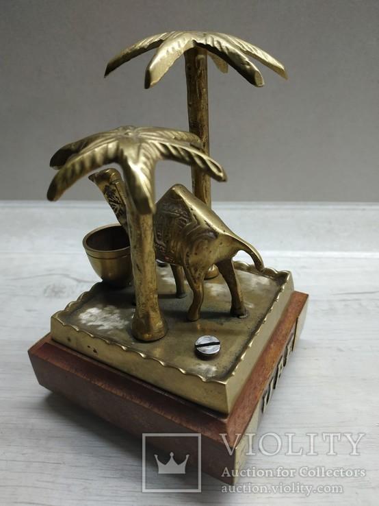 """Сувенир """"Верблюд и пальмы""""., фото №3"""