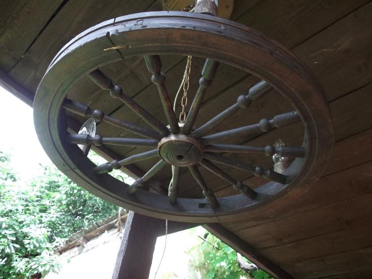 Лампа колесо, фото №7