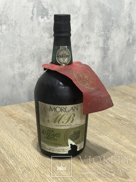 Вино Morgan Old Tawny Port, 10 years in wood bottled in 1973.