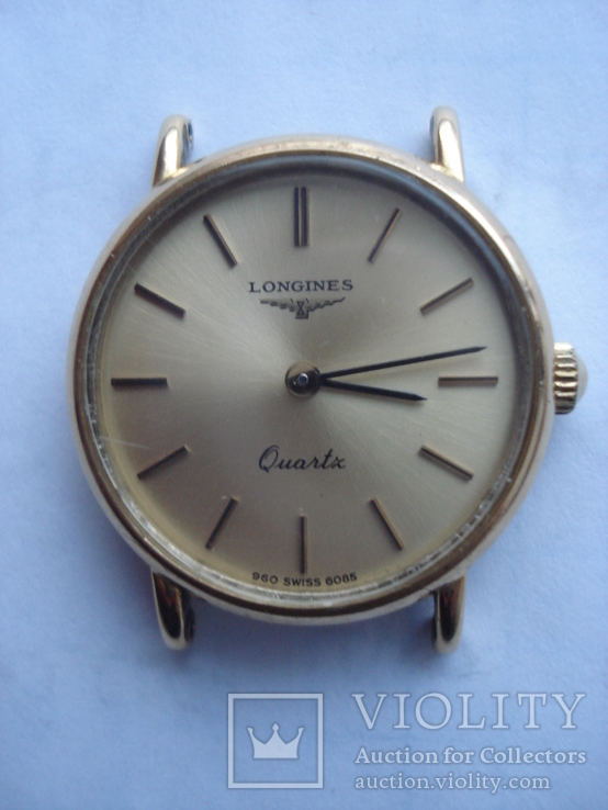 Часы Longines женские. Швейцария, классический стиль.