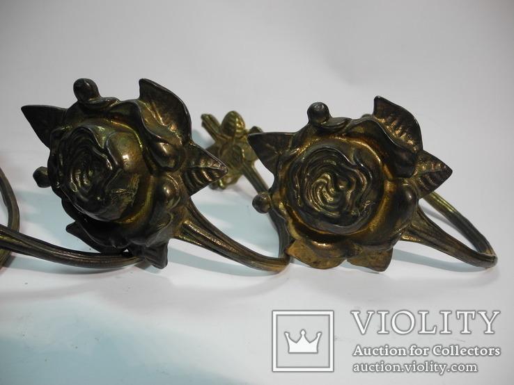 Комплект крючков бронза ( Винтаж Европа ) 4шт, фото №9