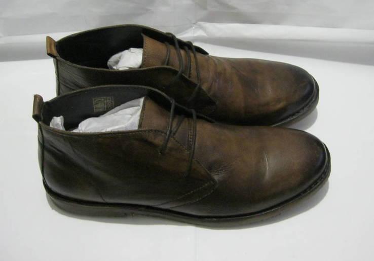 Кожаные Ботинки 45 р. Alberto Torresi