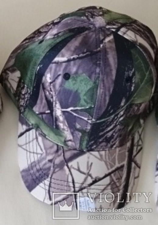 Камуфляжная кепка, бейсболка, для рыбалки, охоты, копа. 4 вида, фото №2