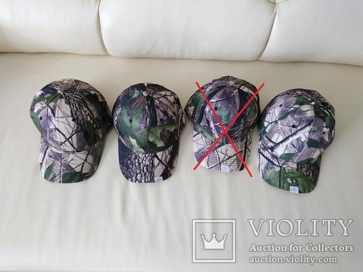 Камуфляжная кепка, бейсболка, для рыбалки, охоты, копа. 4 вида, фото №3