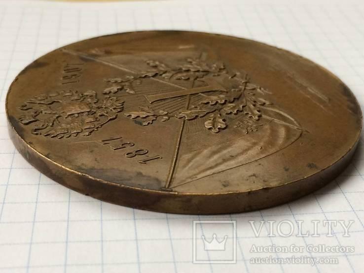 Настольная медаль русское общество пароходства и торговли РОПТ Одесса 1907 г, фото №6