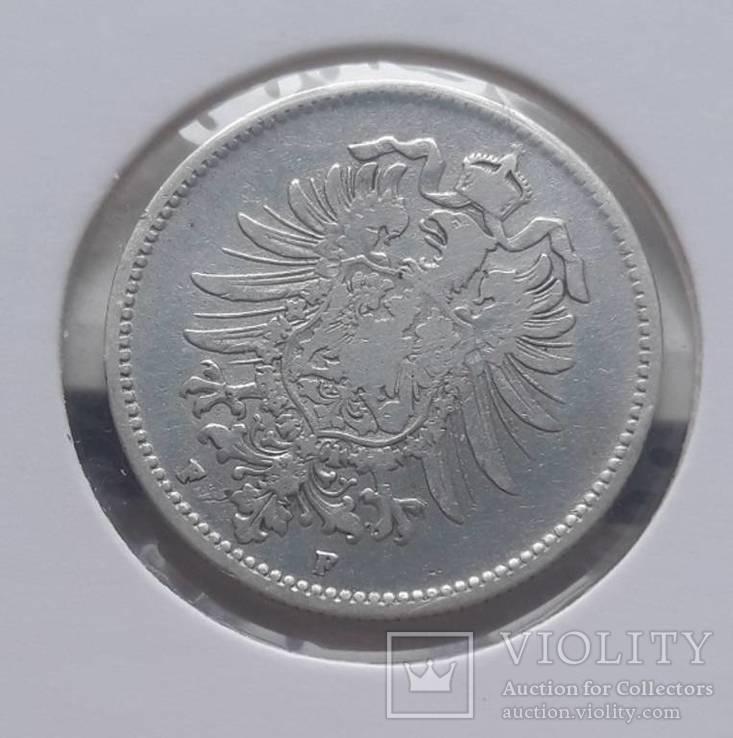 1 марка 1874 F, фото №3
