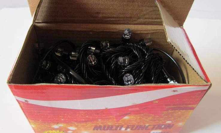 Новорічна гірлянда «Рубін» на 100 лампочок LED .Новогодняя гирлянда., фото №3