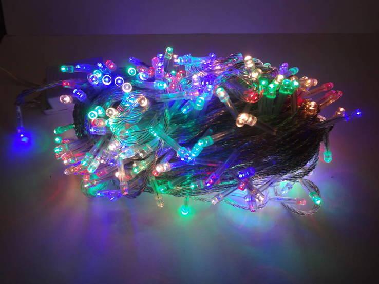 Новорічна гірлянда«Нитка» на 400 лампочок LED .Новогодняя гирлянда., фото №5