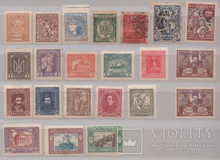 Почтовые марки УНР