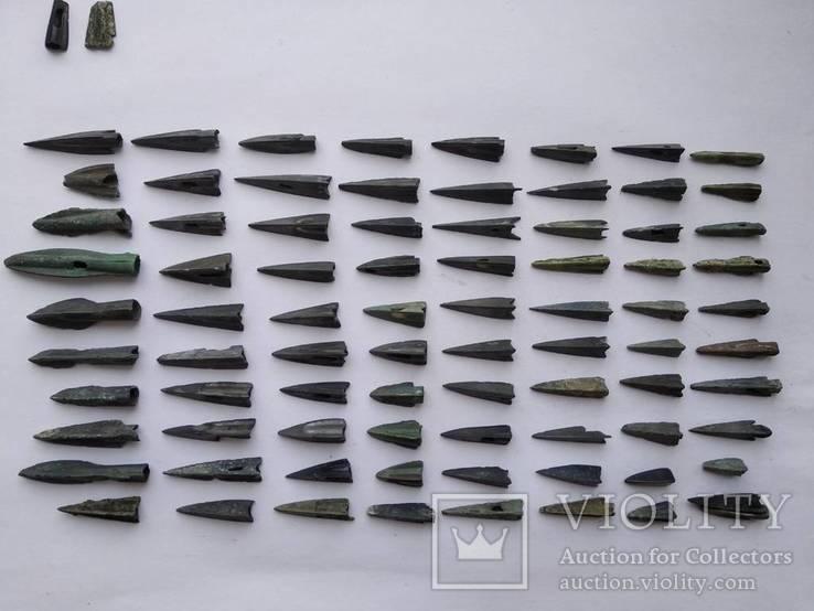 Скіфські наконечники 80шт