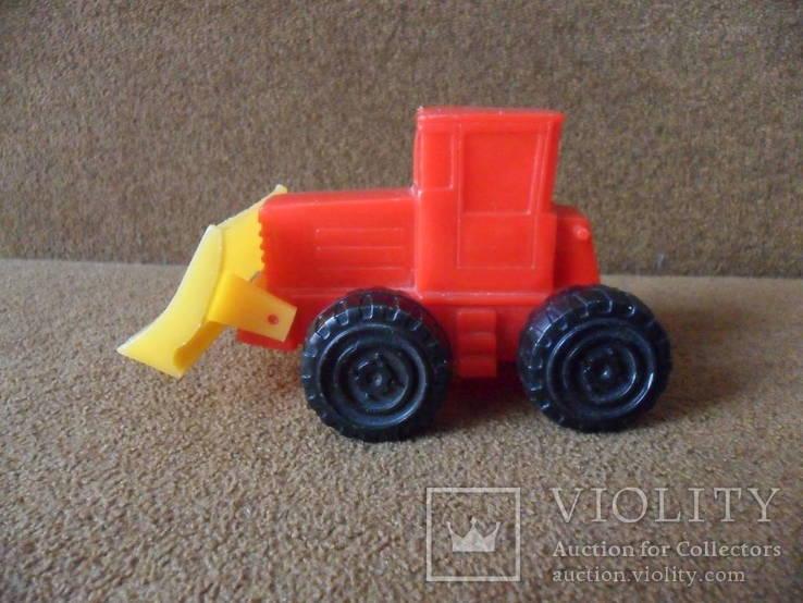 Трактор игрушка ссср
