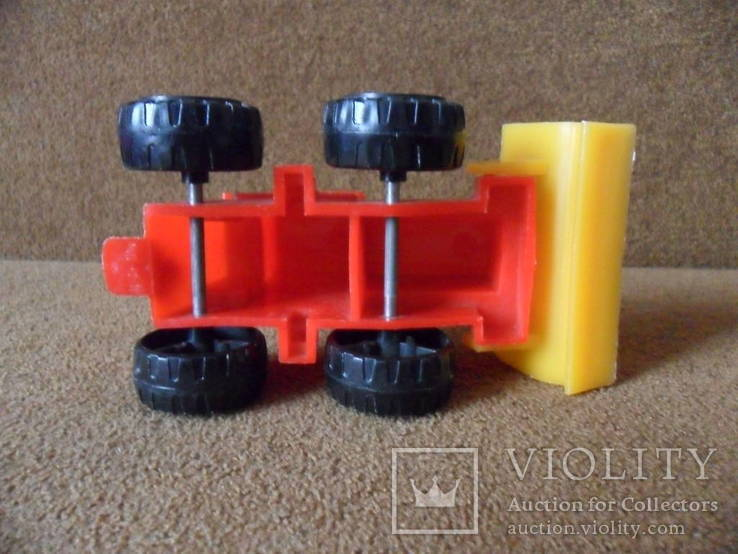 Трактор игрушка ссср, фото №6
