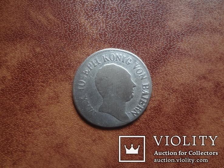 Бавария 6 крейцеров 1810 серебро (м.3.27)~, фото №4