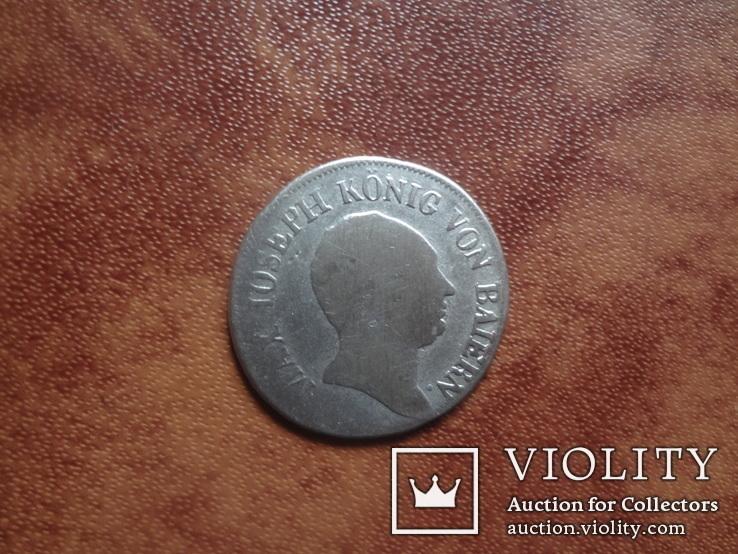 Бавария 6 крейцеров 1810 серебро (м.3.27)~, фото №5