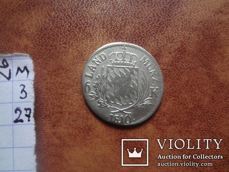Бавария 6 крейцеров 1810 серебро (м.3.27)~, фото №6