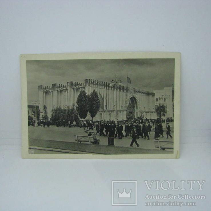 Открытка 1940 Всесоюзная Сельско-хозяйственная выставка. Москва. чистая, фото №2
