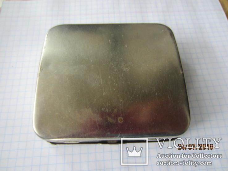 AH do Germany винтажная Машинка для самокруток с табакеркой, фото №5