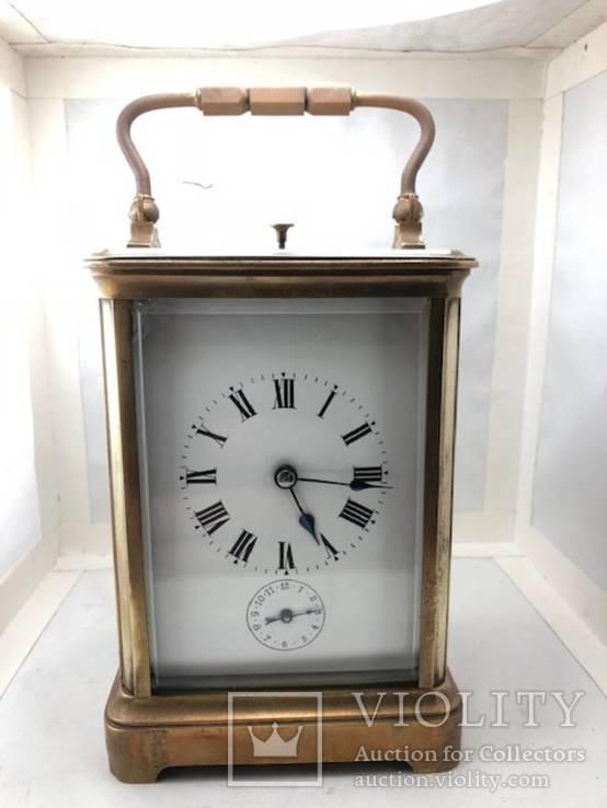 Каретные часы. Самобой/будильник.
