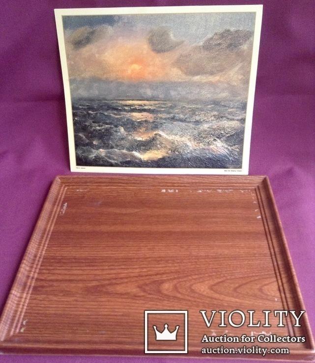 Картина ''Чёрное море''. Художественный сувенир ЧМП. Репродукция., фото №5