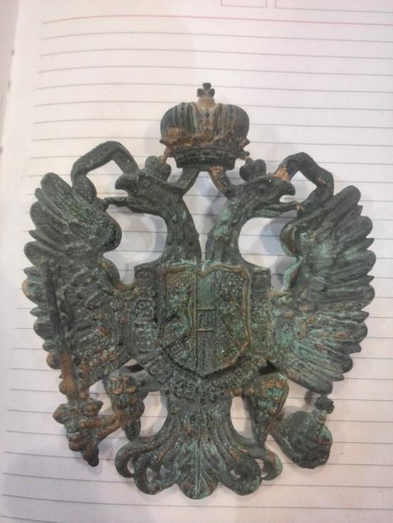 Австро-Венгерский герб на шляпу начала ХХ века