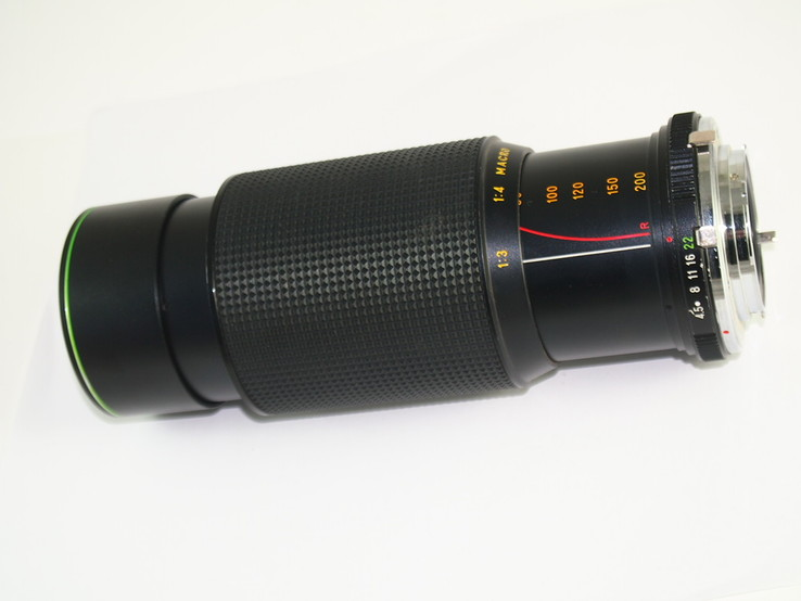 Объектив HANIMEX M.C Auto zoom f = 80 - 200  1 : 4.5 MACRO., фото №4