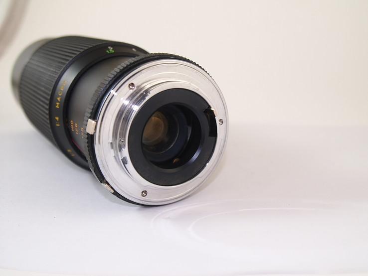 Объектив HANIMEX M.C Auto zoom f = 80 - 200  1 : 4.5 MACRO., фото №6