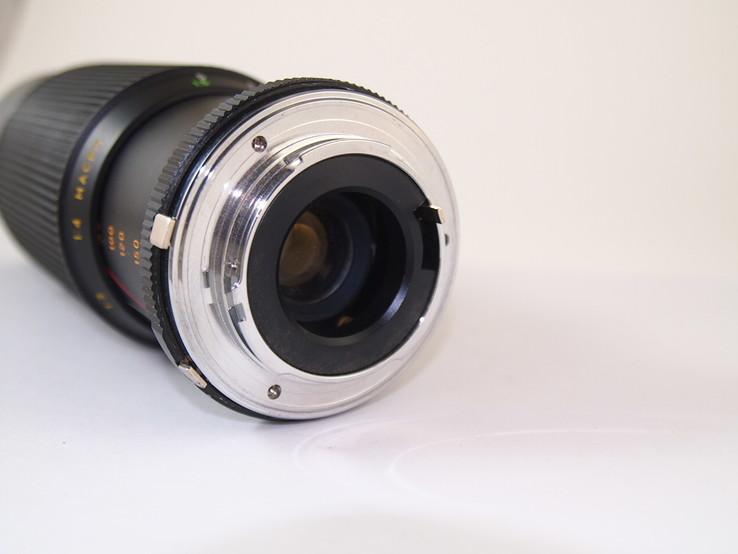 Объектив HANIMEX M.C Auto zoom f = 80 - 200  1 : 4.5 MACRO., фото №7