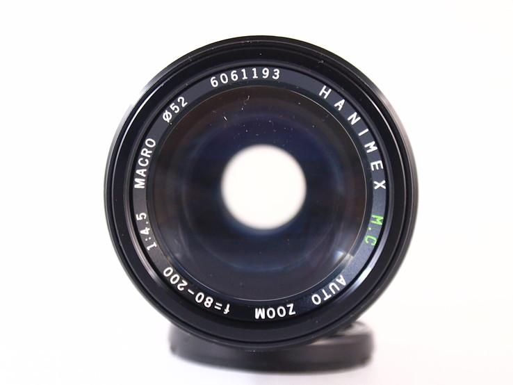 Объектив HANIMEX M.C Auto zoom f = 80 - 200  1 : 4.5 MACRO., фото №8