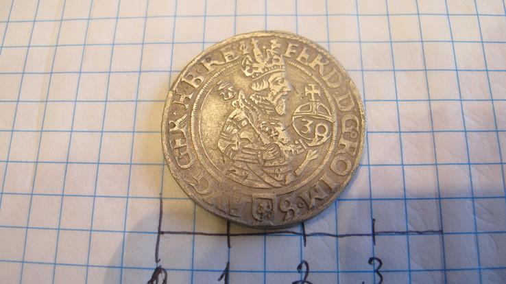 1/2 гулденталер ( 30 крейц 1562 року) Фердинанд 1 мд Иохимсталь