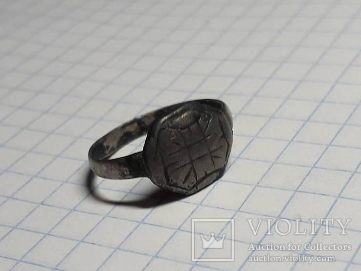 Серебряный перстень, фото №2