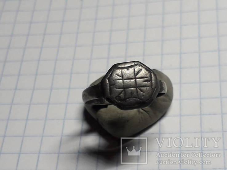 Серебряный перстень, фото №6
