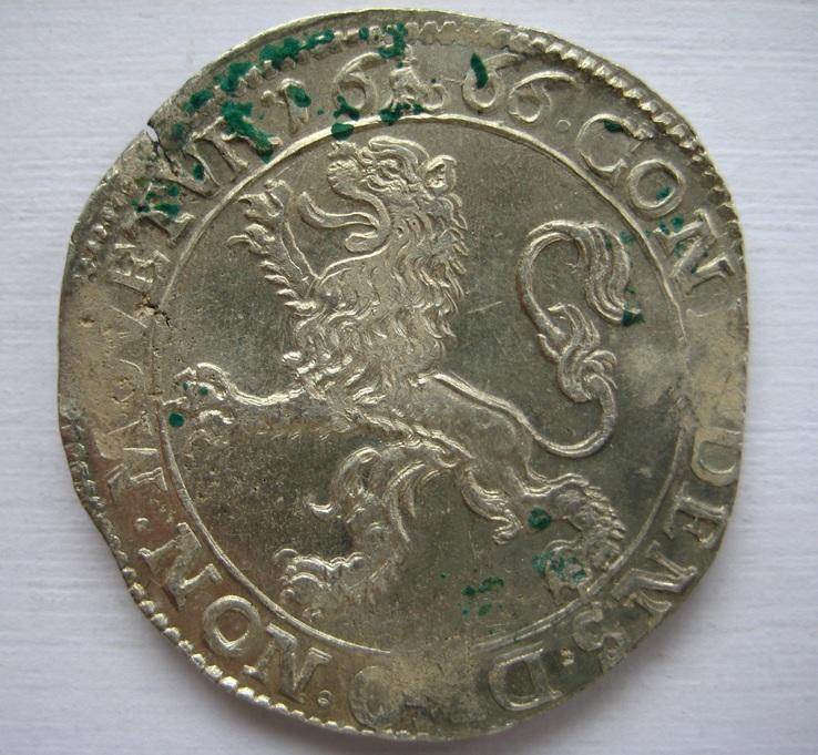 Талер левковый 1666 г.