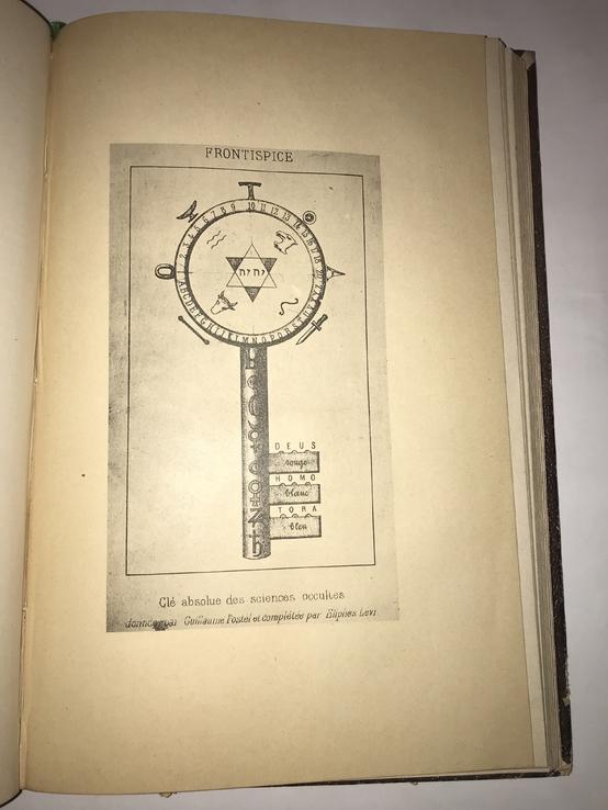 1889 Папюс Оккультные Науки Таро на языке оригинала