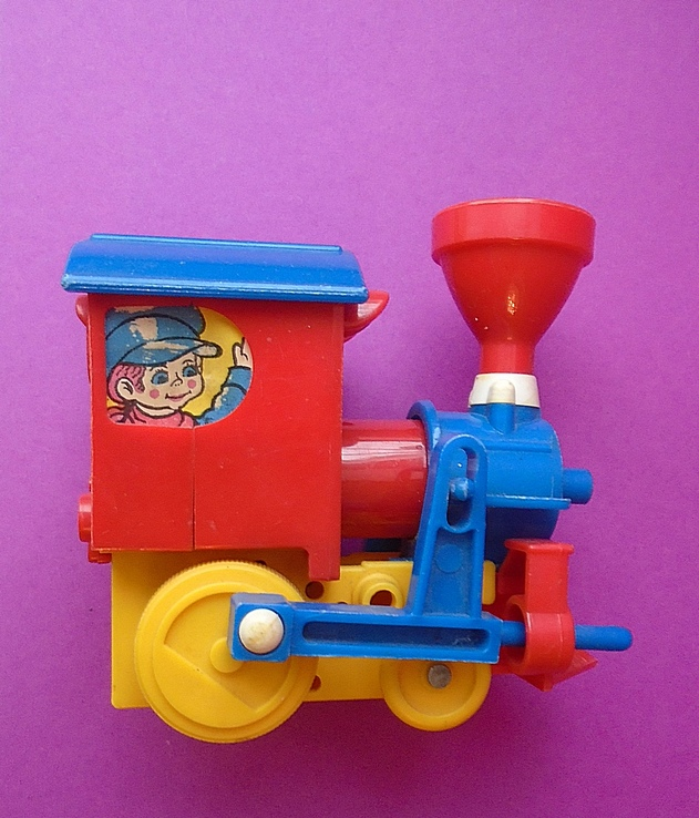 """Игрушка. """"Детский паровозик"""", фото №4"""
