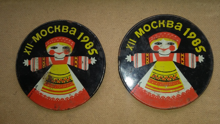 2штуки сувенирные подкладки Москва-85, фото №3