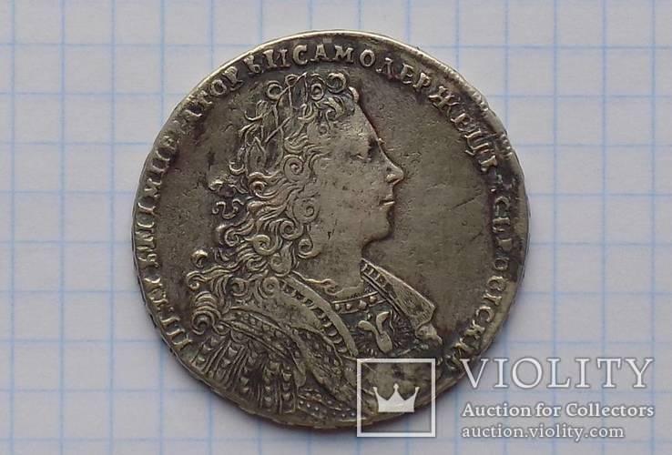 Рубль 1728 года