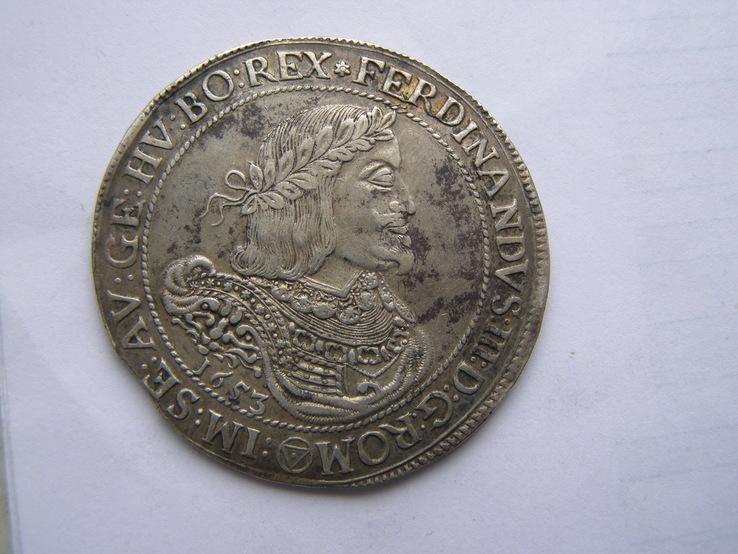 Талер 1653 р. Фердинанд ІІІ