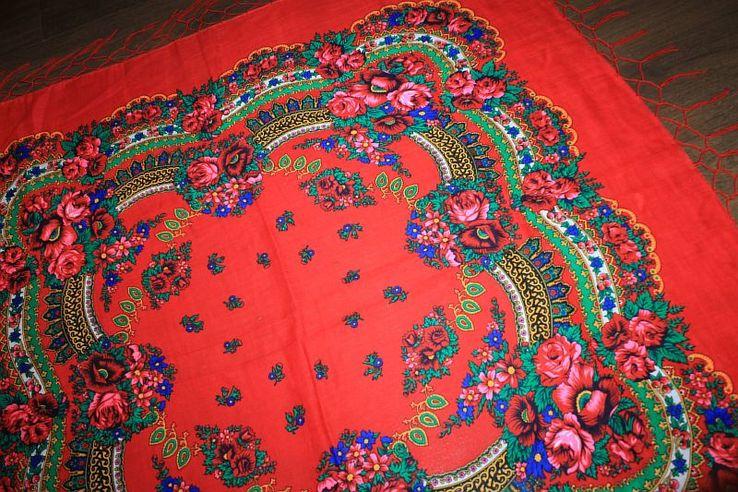 Шерстяной платок №240, фото №6