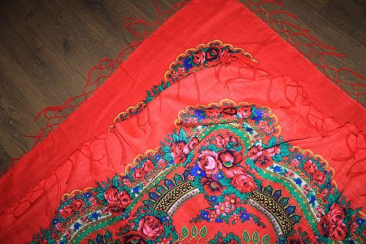 Шерстяной платок №240, фото №9