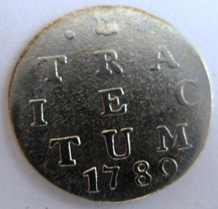Нидерланды, провинция UTRECHT, 2 серебряных стюйвера 1780