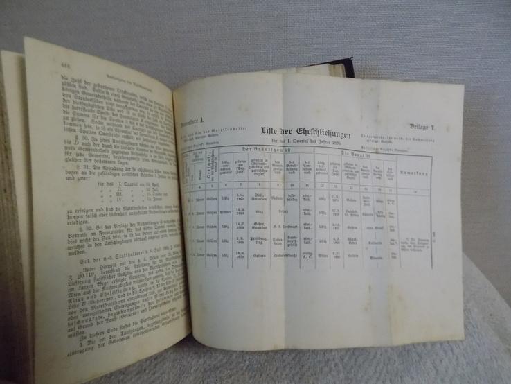 Сімейний Кодекс Австро-Угорщини 1897 в чудовому стані, фото №12
