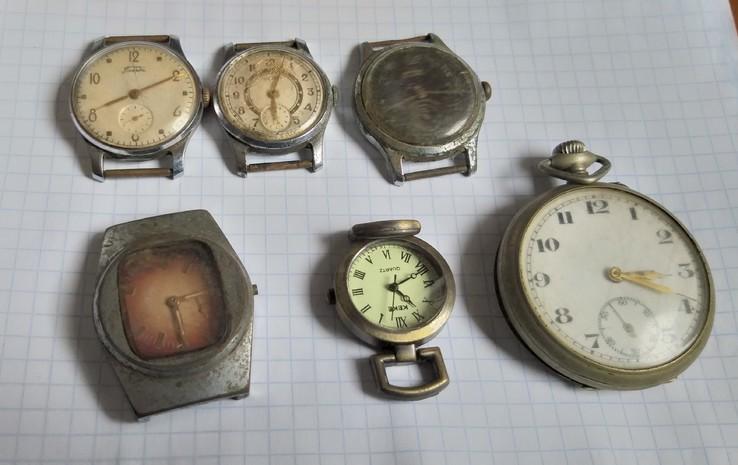 Мужские часы 6 штук
