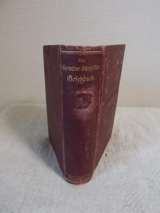 Збірка Австрійських Законів 1906 на нім.мові в чудовому стані, фото №2