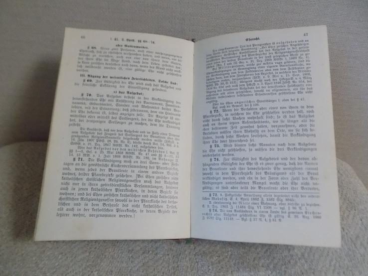 Збірка Австрійських Законів 1906 на нім.мові в чудовому стані, фото №9