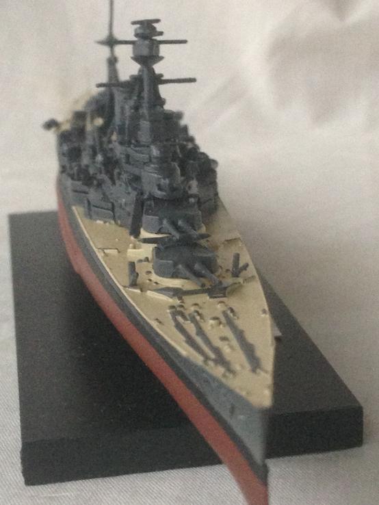 Детализирований военний корабль модель
