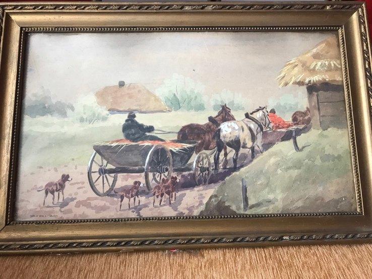 Картина Сельская жизнь