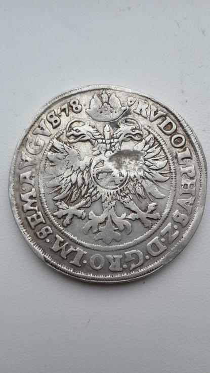 Талер  Князівство Брауншвейг-Грубенгаген, 1578-й рік.