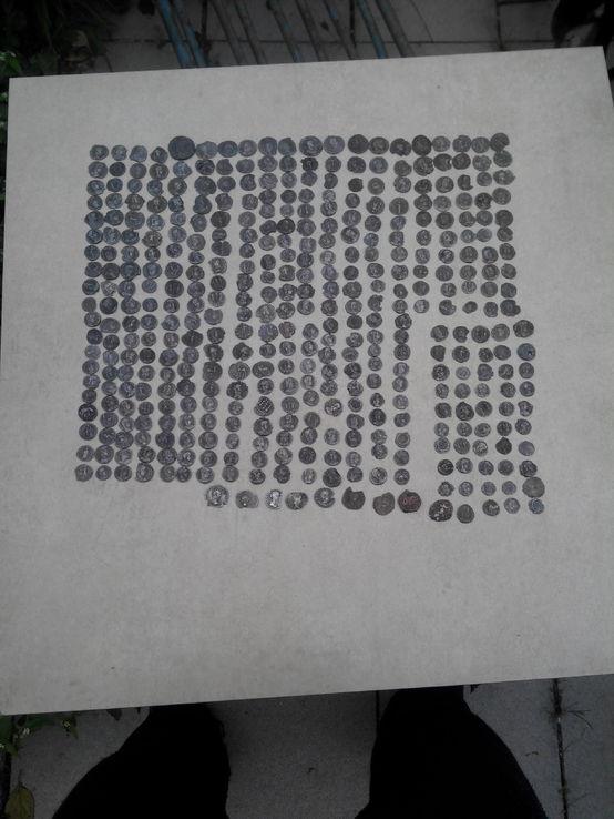 Kolekcja monet Rzymskich 400 szt.