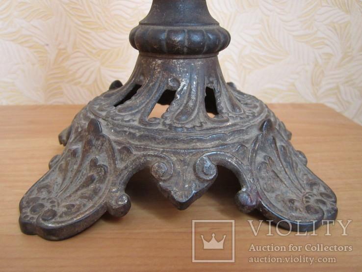 Керосиновая лампа Брюннеръ,Шнейдеръ,Дитмаръ Варшава, фото №6